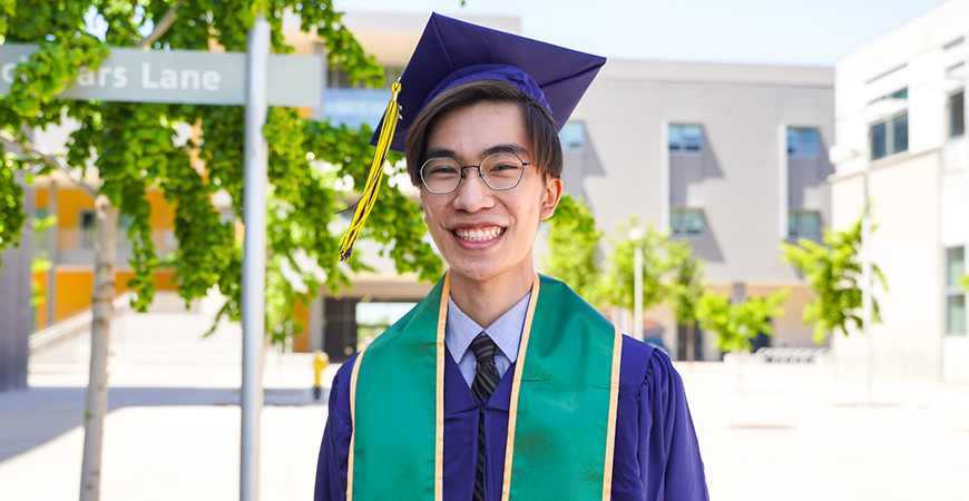 Chemistry major Sean Nguyen